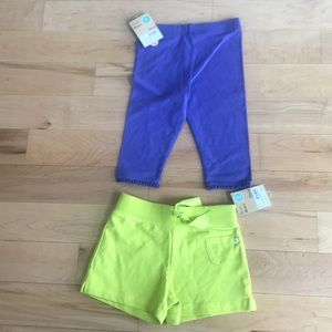 Carters Size 5 Two pairs of shorts